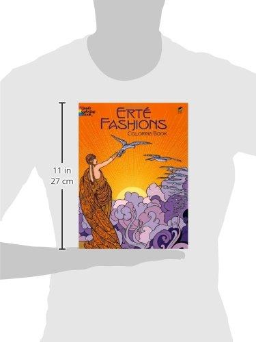 Erte Fashions Coloring Book Dover Fashion Marty Noble 9780486430416 Amazon Books