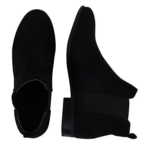 Japado - Botas Chelsea Mujer Negro - negro