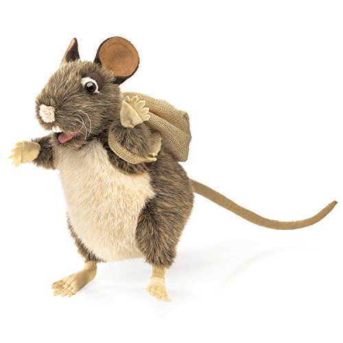 Folkmanis Pack Rat Hand Puppet by Folkmanis