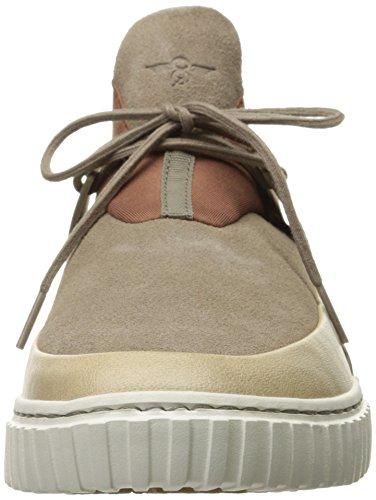 Creativo Da Uomo Moda Castucci Fashion Sneaker Taupe Cemento