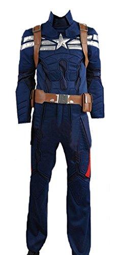 Captain America 2: Winter Soldier Steve Rogers Cosplay -