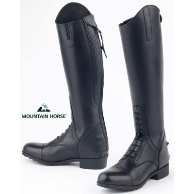Mountain Horse Girls' Women's Venice Jr. Field Boot Black...