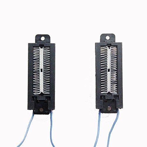 Bleiou 2pcs PTC ceramic air heater 100W 110V conductive type