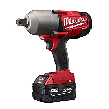 Milwaukee 2764-22 M18 FUEL 3/4 High-Torque Impact Wrench With Friction Ring Kit