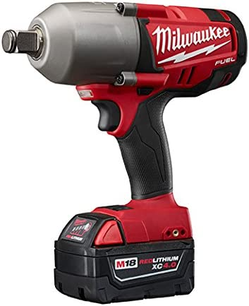 Milwaukee 2764-22 M18 FUEL 3 4 High-Torque Impact Wrench With Friction Ring Kit