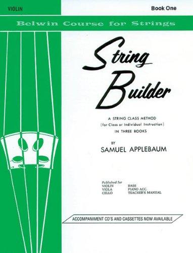 String Builder, Book I - - Book String Builder Violin