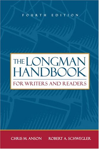 - The Longman Handbook For Writers And Readers