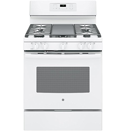 as Freestanding Range with 5 Burners, Sealed, Storage Drawer, 5 cu. ft. Primary Oven Capacity, in White ()