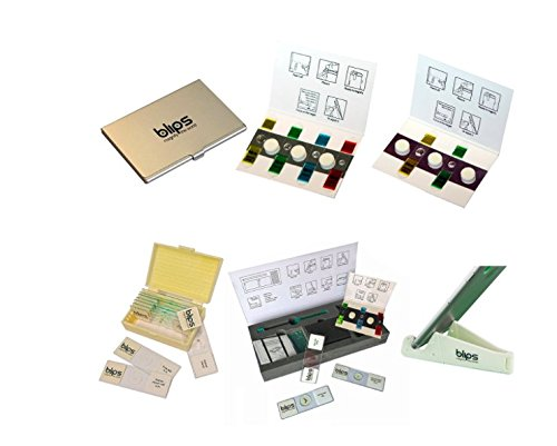 Blips Gift Pack XL - collection of mini-lenses for smartphone and tablet, microscope kit, accessories and microscope prepared slides by Blips (Image #1)