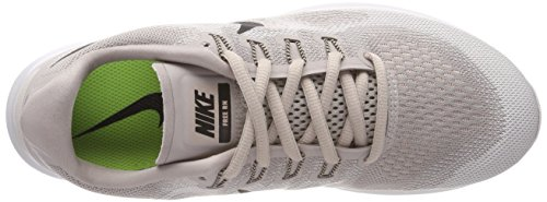 Nike Wmns Free RN 2017, Scarpe da Running Donna Beige (Moon Particle/Black/Vast Grey/ 200)