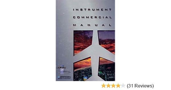 amazon com instrument commercial manual updated ed js314520 rh amazon com Jeppesen Instrument Syllabus Jeppesen Instrument 1-1