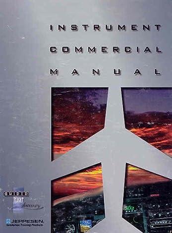 amazon com instrument commercial manual updated ed js314520 rh amazon com jeppesen instrument commercial manual jeppesen instrument commercial manual pdf free download