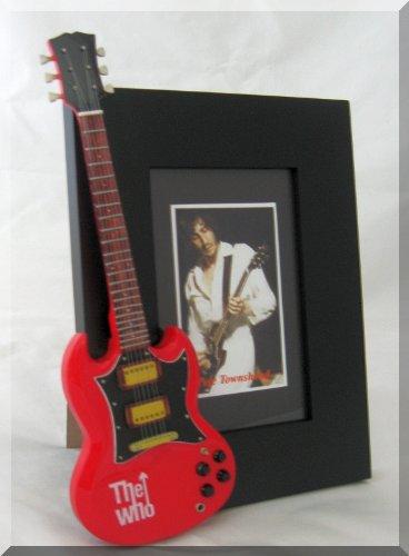 PETE TOWNSHEND Miniature Guitar Photo Frame The WHO
