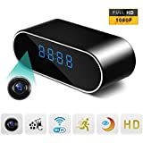 Spy Camera,Stonepack 1080P Wifi Hidden Camera Clock Video Recorder Wireless IP Camera for Indoor Home Security Monitoring Nanny Cam Night Vision Motion Detection