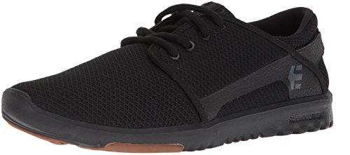 Etnies Men's Scout Skate Shoe, Black/Gum, 10.5 Medium US