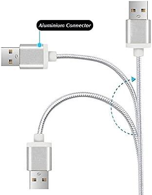 Cable Compatible con Xiaomi Mi A1 Cable USB Tipo C 3m Cable ...