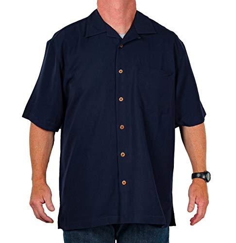 Eagle Dry Goods Men's Mosaic Camp Shirt, Navy, Size - Eagle Goods Dry Mosaic