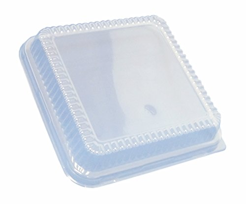 Durable Packaging Plastic Dome Lid For Square Cake Pan 8
