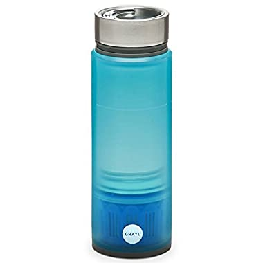 GRAYL INC Quest Water Bottle, With Tap Filter Blue