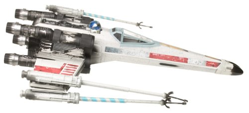 Used, Luke Skywalker's X-Wing Fighter w/ R2-D2 Figure - Star for sale  Delivered anywhere in USA