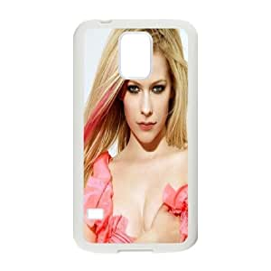 Canadian pop singer Avril Lavigne Hard Plastic phone Case Cover+Gift keys stand For Samsung Galaxy S5 ZDI069961