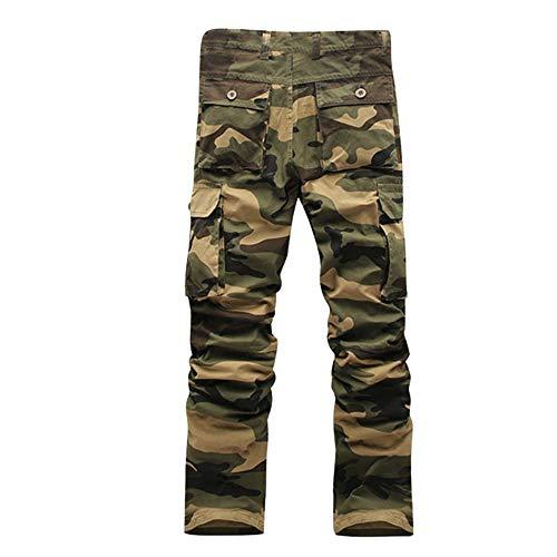 Fantaisiez Pantalon Pants Salopette Hommes Décontractée Pantalons Gris Trousers Armée L'armée Travail Camouflage De Militaire Verte Combat TqRTwrna