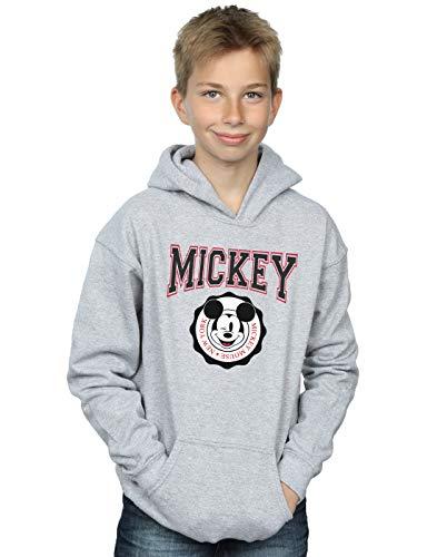 New Felpa Disney Grigio con York Boy Mouse Sport Mickey cappuccio qYxYEwrRaB