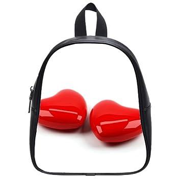 Amazon Com Love Heart Valentine Day Gift Backpack Kid S School Bag