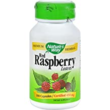 Natures Way Red Raspberry Leaves Capsules