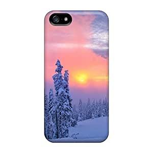 Good Quality For SamSung Galaxy S5 Mini Phone Case Cover Accessories Premium For SamSung Galaxy S5 Mini Phone Case Cover Pink Winter Sunset PC