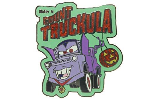 Disney Pixar Cars Count Truckula Halloween Pin