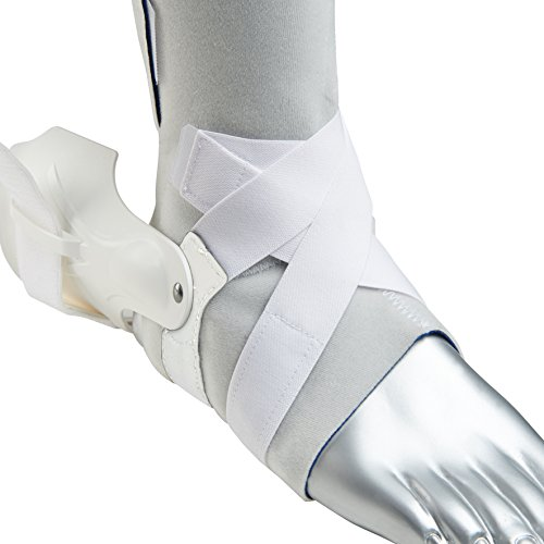 Zamst Ankle Brace Support Stabilizer: A2-DX Mens & Womens Sports Brace for Basketball, Soccer, Volleyball, Football & Baseball,White,Right,X-Large by Zamst (Image #3)