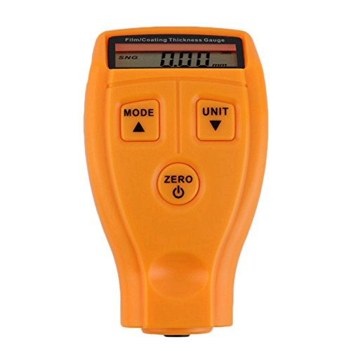 Toogoo GM200 LCD Digital Car Paint Coating Thickness Probe Tester Gauge Meter Measuring Tool