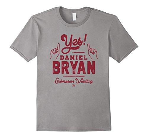 Mens WWE Yes! Script Daniel Bryan Submission Wrestling Large Slate