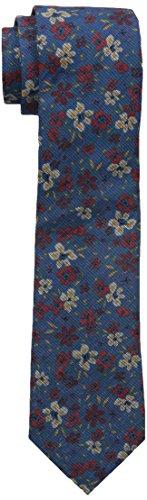 Ben Sherman Men's Londrina Floral Tie, Blue, 12