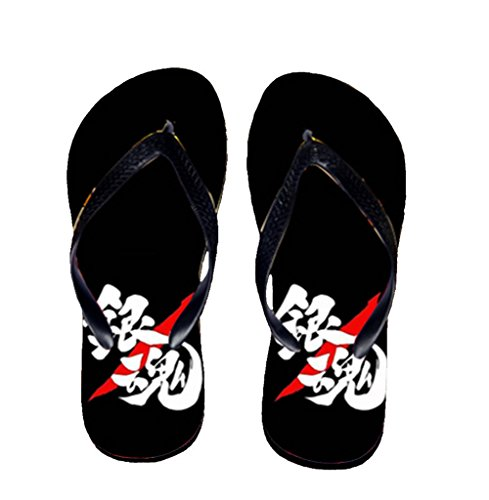 Bromeo Gintama Anime Unisex Flip Flops Chanclas 480