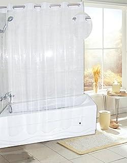 Royal Bath Easy On No Hooks Needed PEVA Non Toxic Shower Curtain Liner