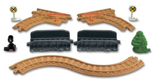 Fisher-Price GeoTrax Rail & Road System Tracks - Rail Pack