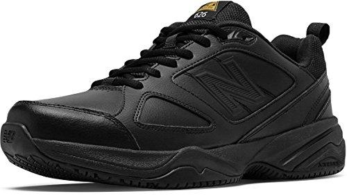 (New Balance Men's MID626v2 Work Training Shoe, Black, 10.5 4E US)