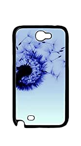 Print Hard Shell case for samsung galaxy note 2 for girls - Dandelion Heart