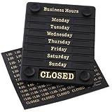 Stalwart DL226 Panneau de porte, ouvert/fermé comprenant l'heure réglable