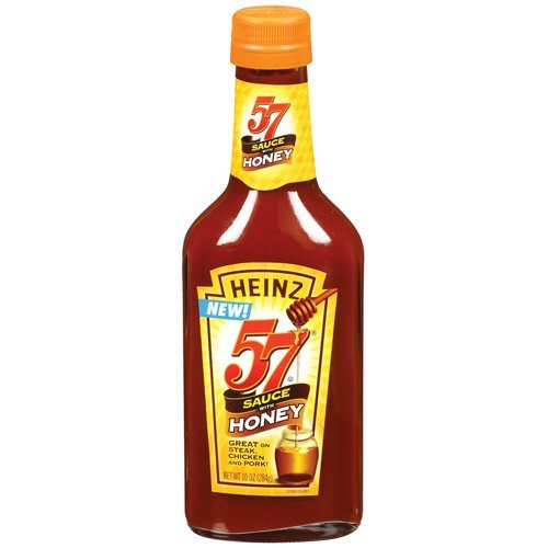 Heinz 57 Steak Sauce with Honey 10oz Bottle (Pack of (Heinz 57 Steak)