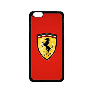 Customize Hope-Store Ferrari sign fashion cell phone case for iPhone 6 Phone Case Cover Loskin customize case