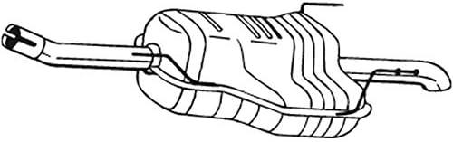 Bosal 185 479 Endschalldämpfer Auto