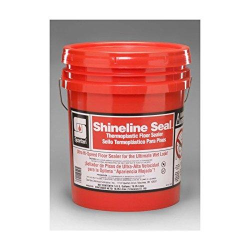 (Spartan Shineline Seal Floor Finish/Sealer, 5 gal Pail)