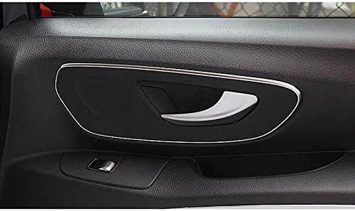 Vito W447 2014 2015 2016 2017 2018 Car Door Pull Doorknob Handle Bowl Molding Cover Kit Trim Bestlymood 2PCS Accessories for Mercedes