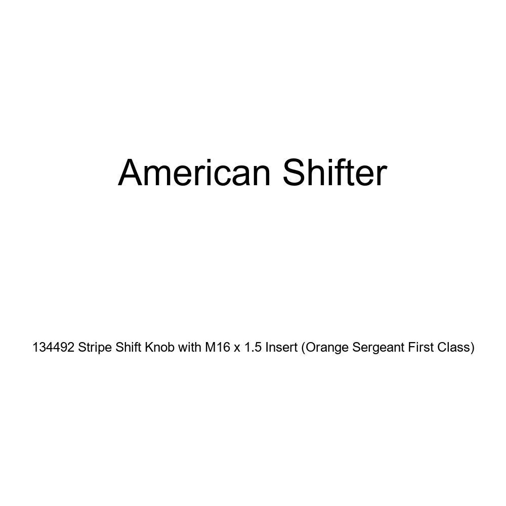 American Shifter 34214 Ivory Shift Knob with 16mm x 1.5 Insert Orange Wireless
