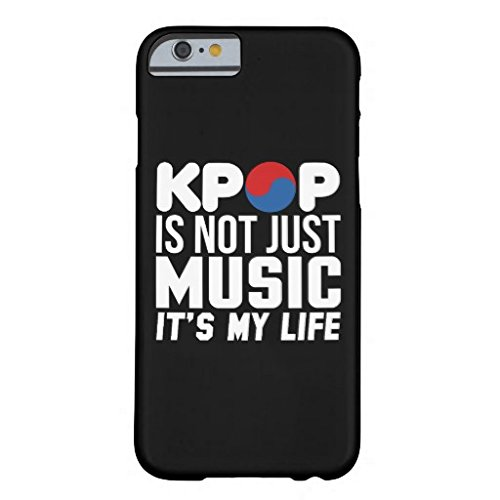 Decals Store Kpop Is My Life Slogan Graphics Dark New Tough iPhone 6/ iPhone 6S Case 4.7 Inch