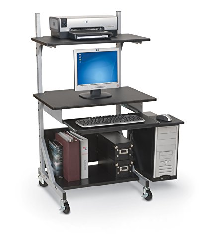 Balt 42551 Alekto Industrial Sit & Stand Workstation, 27.5