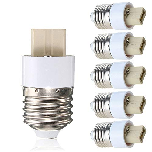 YouOKLight 6-Pack E26 to G9 Adapter - Converts Chandelier for sale  Delivered anywhere in USA